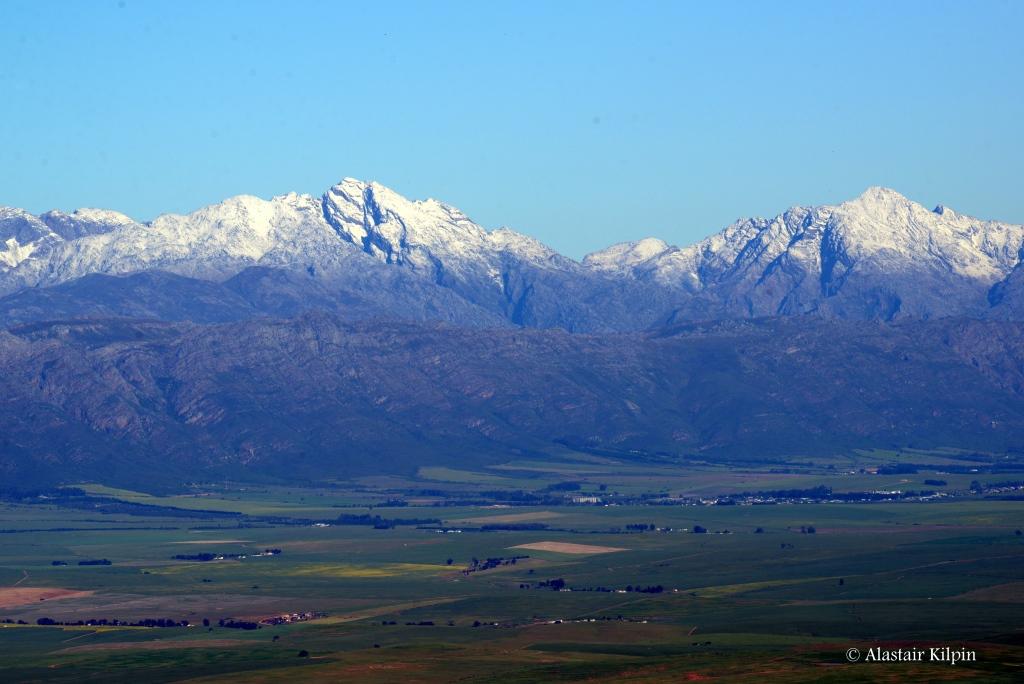 Groot Winterhoek Mountains north of Cape Town