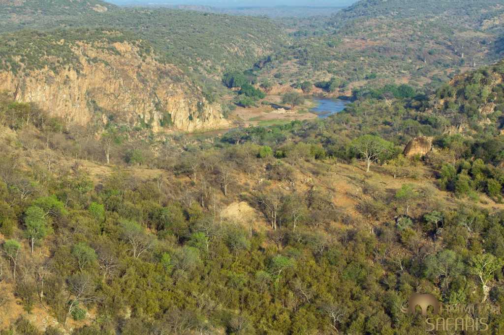 Spectacular scenery form Lanner Gorge, probably one of the best place in Africa to enjoy sundowners.